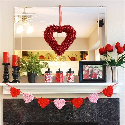 valentine home decorating ideas 40 hot red valentine home d 233 cor ideas digsdigs