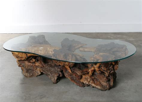 burl wood end table 1000 images about wooden table on pinterest