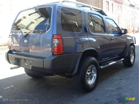 2000 denim blue metallic nissan xterra se v6 4x4 7438355 photo 3 gtcarlot car color