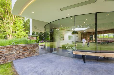 dog friendly house round house design a dog friendly home by 123dv architecture beast
