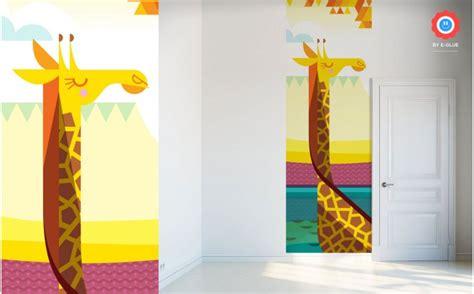giraffe wallpaper for bedrooms savanna jungle kids wall murals kids room wallpaper