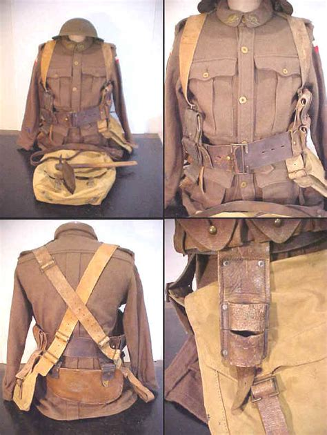 pattern 08 web equipment web equipment 1915 leather infantry