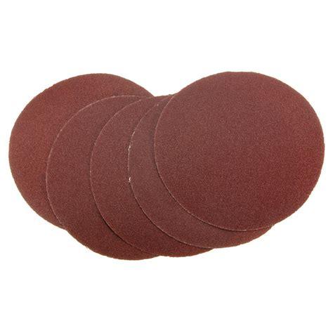 5pcs 80 grit sandpaper peel stick sanding disc sand