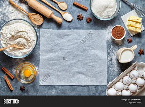 Food Wallpaper Kitchen by Dough Preparation Recipe Image Photo Bigstock