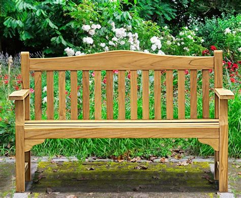 commemorative bench tribute 5ft teak commemorative memorial bench