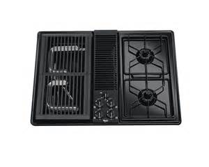 Sterling Cooktop 30 Inch Gas Cooktop With Downdraft Ventilation System