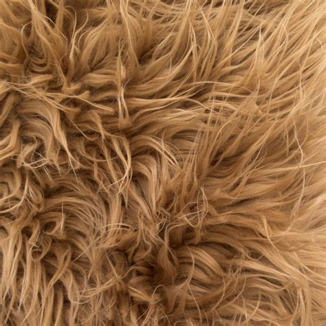 Fur Upholstery Fabric by Mongolian Faux Fur Camel 58 Fabric By The Yard 1