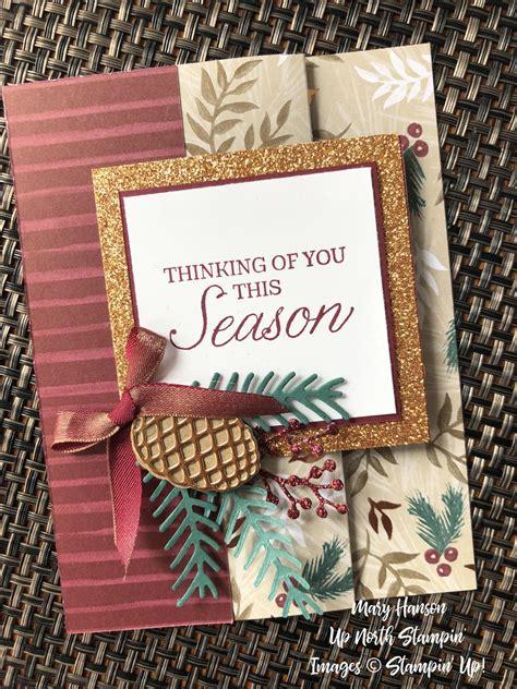 joyous noel designer series paper pretty pines bundle peaceful noel bundle  mary hanson