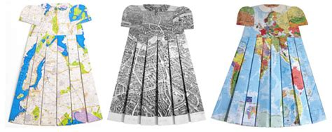 Elisabeth Lecourts Map Clothing by Fashion Mapping With Elisabeth Lecourt Fashionrework S