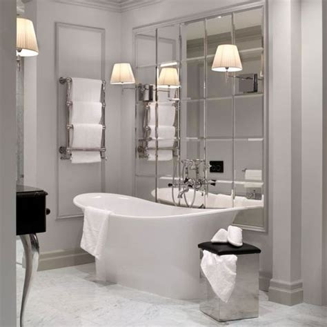 mirrored bathroom walls make use of mirror bathroom tiles housetohome co uk