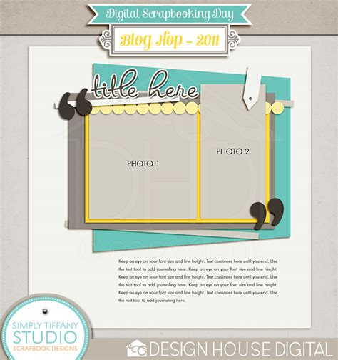 16 Free Psd Templates For Scrapbook Images Free Scrapbook Page Templates Free Digital Digital Scrapbooking Templates