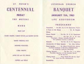Church anniversary banquet programs templates