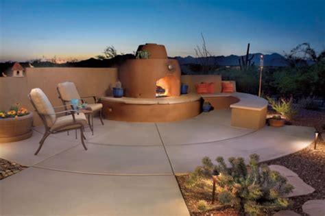 outdoor fire features tucson az sonoran gardens