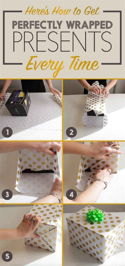 how to wrap a present 14 useful yet unique diy gift wrapping tutorials you