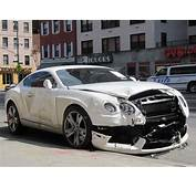 ANOTHER Wrecked Bentley Just One Of NYCs Many Car Crashes