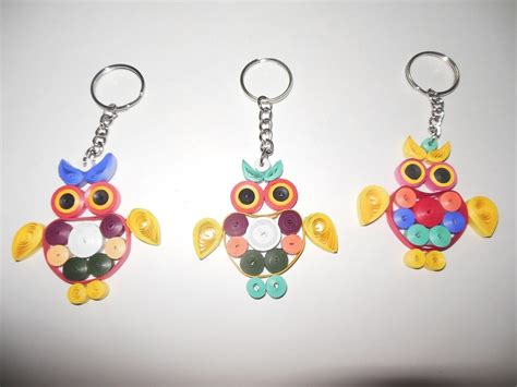 paper quilling keychain tutorial stunning paper quilling projects