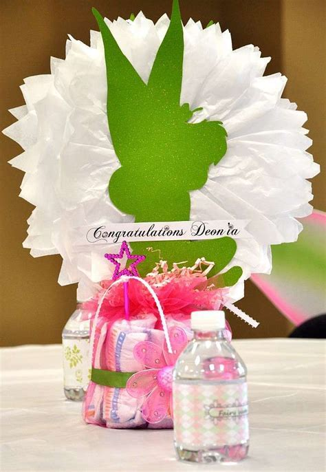 Fantasy Tinkerbell Baby Shower Party Ideas   Photo 7 of 42