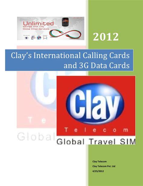 Gift Card International - clay s international calling cards