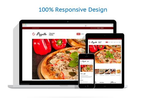 pizza shop website template how to create an attractive website design for a pizza