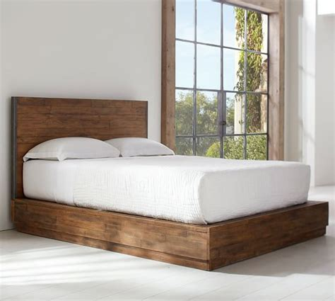 big beds big s antiques reclaimed wood bed pottery barn