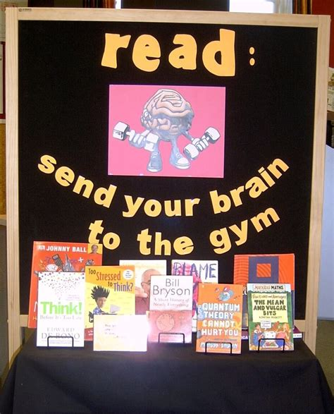 book display ideas 13 best images about brain display on pinterest your