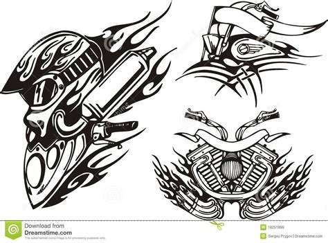 tattoo tribal images 29 tribal motorcycle tattoos
