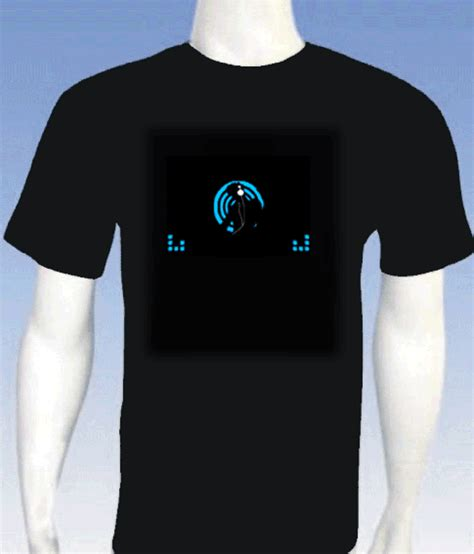 custom light up shirts led light up t shirts with sound custom made