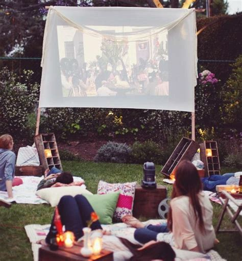 backyard movie night rental 10 romantic date night ideas for my special day with my