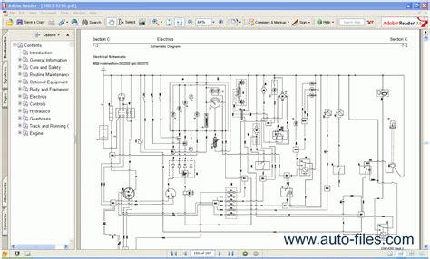 jcb backhoe loader service manual repair manuals