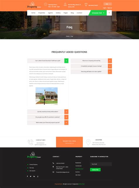 property listing website template real estate and property listing template by template mr