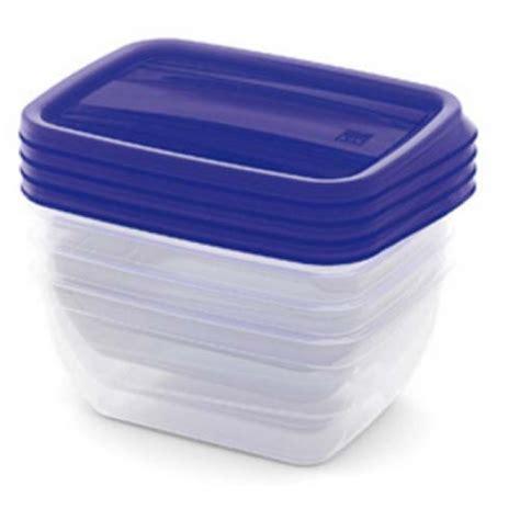 contenitori x alimenti 4 recipienti per alimenti vedo 0 75lt