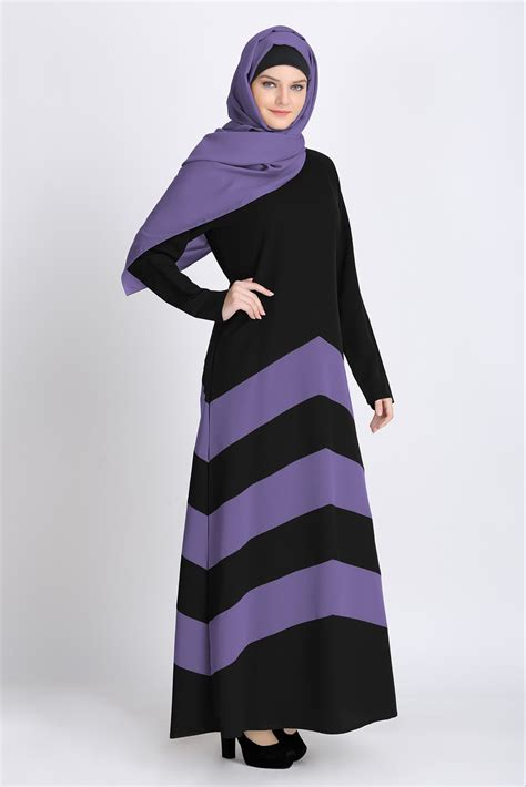 Khimar Duo Colour everyday wearing soft comfort abaya shannoh