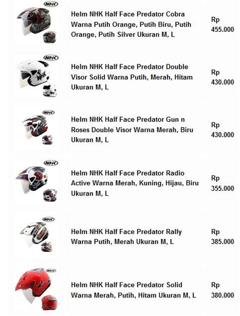 Half Helm Nhk Godzilla Solid daftar harga helm nhk half terbaru bulan ini