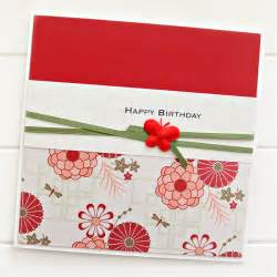 happy birthday card for her oriental red friend mum sister