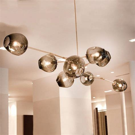 Glass Bubble Light Chandelier Modern Pendant Lights Bubble Molecular Glass Ball Pendant