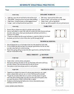 printable volleyball practice plans blank volleyball lineup sheets printable volleyball