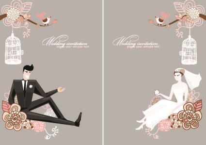 Wedding Card Design Cdr Format by Wedding Card Design Free Vector In Coreldraw Cdr Cdr