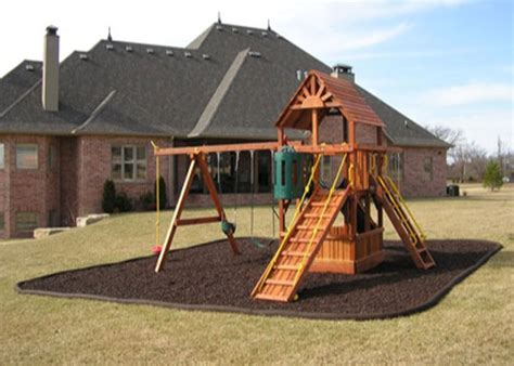 Landscape Timbers Playground Rubber Border Landscape Edging