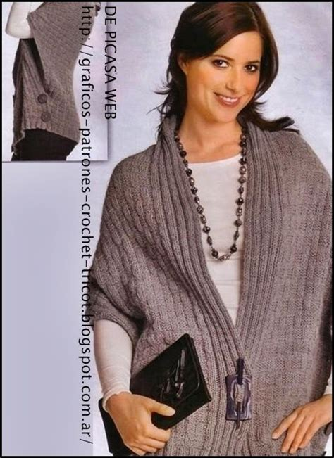www detodocrochet com ruanas dos agujas 247 best images about ruanas chales ponchos capelet on