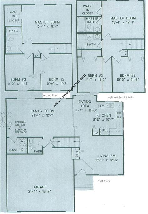 Split Level Floor Plan by Split Level Model In The Heatherwood Subdivision In Lake