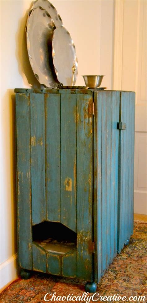 cat litter box cabinet 5 ways to hide your cat s litter box better housekeeper