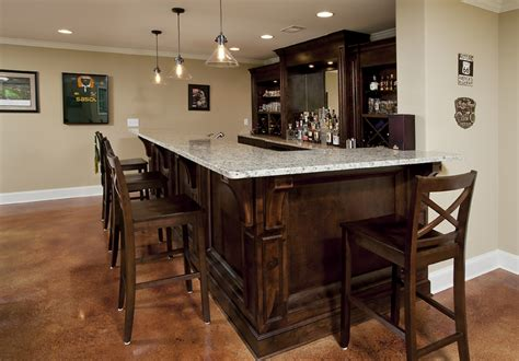 Basement Bar Design Ideas Shaped : Basement Bar Design