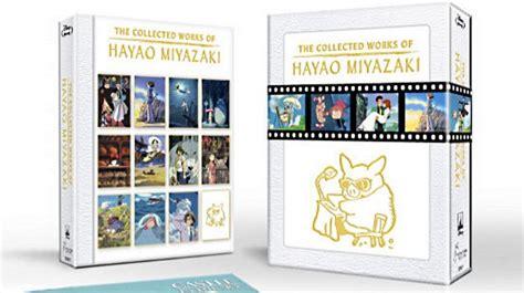 studio ghibli film box set studio ghibli collector s blu ray set celebrates hayao