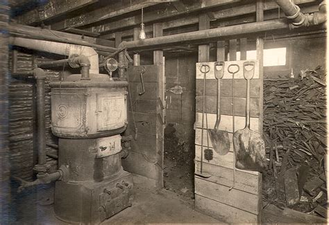 furnace room tillman county chronicles l t martin home 1912