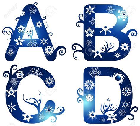 printable winter alphabet letters winter alphabet clipart 67