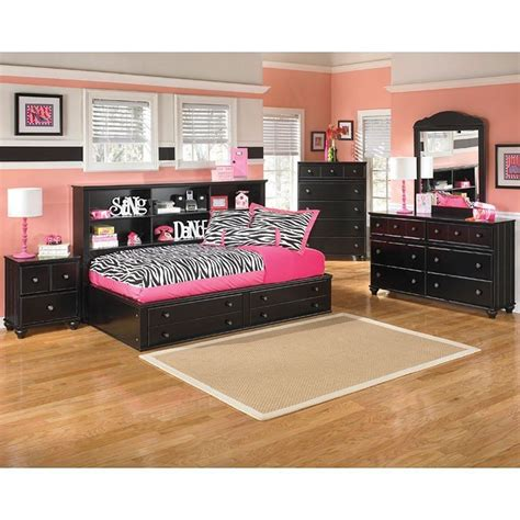 furniture jaidyn bookcase bed jaidyn youth bookcase bedroom set signature design