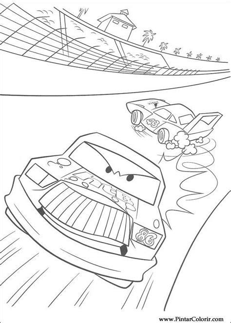 cars coloring pages hicks desenhos para pintar e colorir relago mcqueen