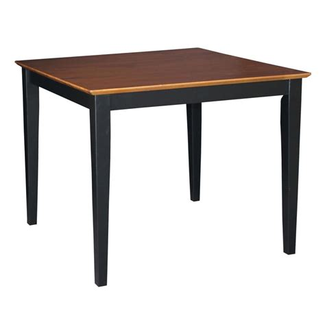 international concepts 30 quot x 48 quot solid wood top table