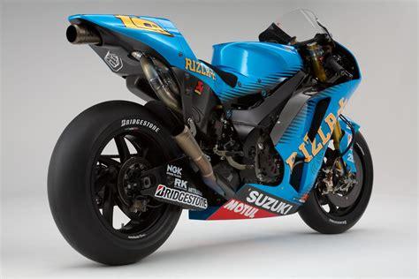 rizla suzuki gsv  motogp race bike unveiled