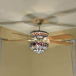 stained glass ceiling fan 41 best images about stained glass ceiling fan on